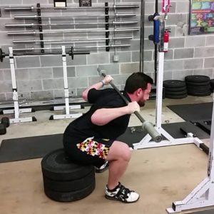 Nick Squat Rehab