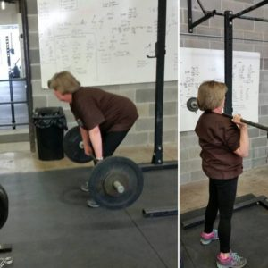 SS deadlift & press